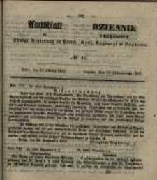 Amtsblatt der Königlichen Regierung zu Posen. 1857.10.13 Nro.41