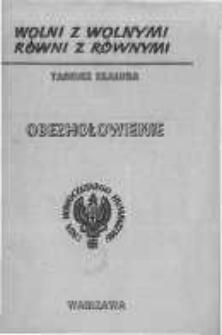 Obezhołowienie.Geneza likwidacji warstwy kierowniczej narodu polskiego przez okupanta radzieckiego w latach 1939 do 1941