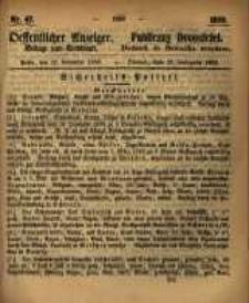 Oeffentlicher Anzeiger. 1859.11.22 Nro.47