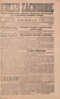 Kresy Zachodnie: pismo poświęcone obronie interesów narodowych na zachodnich ziemiach Polski 1924.01.09 R.2 Nr4