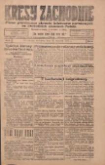 Kresy Zachodnie: pismo poświęcone obronie interesów narodowych na zachodnich ziemiach Polski 1924.01.13 R.2 Nr6