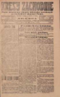 Kresy Zachodnie: pismo poświęcone obronie interesów narodowych na zachodnich ziemiach Polski 1924.01.16 R.2 Nr7