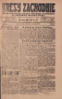 Kresy Zachodnie: pismo poświęcone obronie interesów narodowych na zachodnich ziemiach Polski 1924.01.23 R.2 Nr9