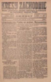 Kresy Zachodnie: pismo poświęcone obronie interesów narodowych na zachodnich ziemiach Polski 1924.01.30 R.2 Nr13