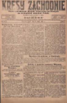 Kresy Zachodnie: pismo poświęcone obronie interesów narodowych na zachodnich ziemiach Polski 1924.02.08 R.2 Nr16