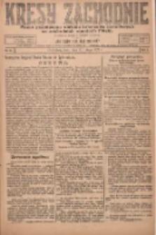 Kresy Zachodnie: pismo poświęcone obronie interesów narodowych na zachodnich ziemiach Polski 1924.02.20 R.2 Nr21