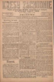 Kresy Zachodnie: pismo poświęcone obronie interesów narodowych na zachodnich ziemiach Polski 1924.02.23 R.2 Nr23