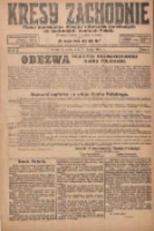 Kresy Zachodnie: pismo poświęcone obronie interesów narodowych na zachodnich ziemiach Polski 1924.02.27 R.2 Nr24