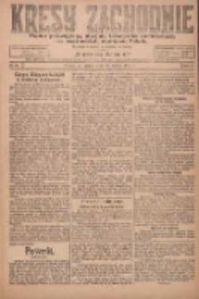 Kresy Zachodnie: pismo poświęcone obronie interesów narodowych na zachodnich ziemiach Polski 1924.02.29 R.2 Nr25