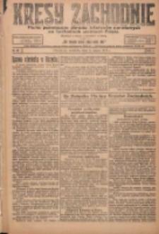 Kresy Zachodnie: pismo poświęcone obronie interesów narodowych na zachodnich ziemiach Polski 1924.03.02 R.2 Nr26