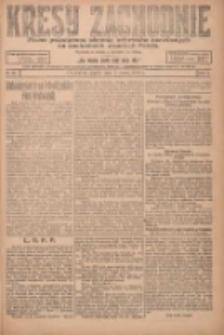 Kresy Zachodnie: pismo poświęcone obronie interesów narodowych na zachodnich ziemiach Polski 1924.03.07 R.2 Nr28