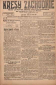 Kresy Zachodnie: pismo poświęcone obronie interesów narodowych na zachodnich ziemiach Polski 1924.03.23 R.2 Nr37