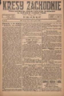 Kresy Zachodnie: pismo poświęcone obronie interesów narodowych na zachodnich ziemiach Polski 1924.03.05 R.2 Nr27