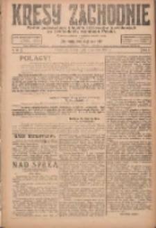 Kresy Zachodnie: pismo poświęcone obronie interesów narodowych na zachodnich ziemiach Polski 1924.04.01 R.2 Nr43