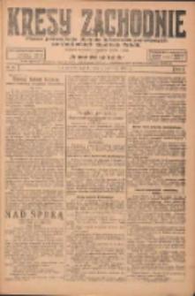 Kresy Zachodnie: pismo poświęcone obronie interesów narodowych na zachodnich ziemiach Polski 1924.04.04 R.2 Nr46