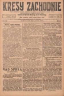 Kresy Zachodnie: pismo poświęcone obronie interesów narodowych na zachodnich ziemiach Polski 1924.04.09 R.2 Nr50