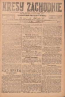 Kresy Zachodnie: pismo poświęcone obronie interesów narodowych na zachodnich ziemiach Polski 1924.04.10 R.2 Nr51