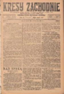 Kresy Zachodnie: pismo poświęcone obronie interesów narodowych na zachodnich ziemiach Polski 1924.04.12 R.2 Nr53