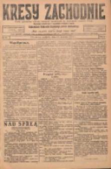 Kresy Zachodnie: pismo poświęcone obronie interesów narodowych na zachodnich ziemiach Polski 1924.04.13 R.2 Nr54
