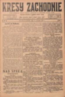 Kresy Zachodnie: pismo poświęcone obronie interesów narodowych na zachodnich ziemiach Polski 1924.04.17 R.2 Nr57