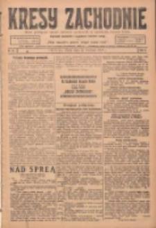 Kresy Zachodnie: pismo poświęcone obronie interesów narodowych na zachodnich ziemiach Polski 1924.04.26 R.2 Nr64