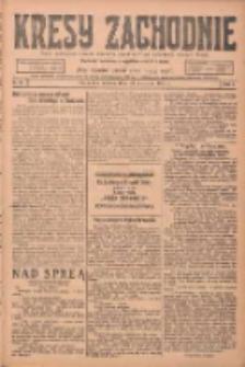 Kresy Zachodnie: pismo poświęcone obronie interesów narodowych na zachodnich ziemiach Polski 1924.04.29 R.2 Nr66