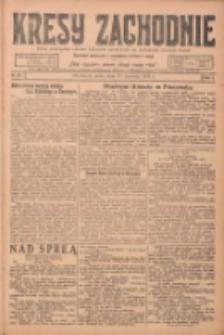 Kresy Zachodnie: pismo poświęcone obronie interesów narodowych na zachodnich ziemiach Polski 1924.04.30 R.2 Nr67