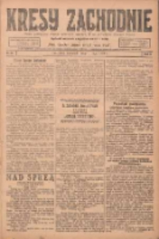 Kresy Zachodnie: pismo poświęcone obronie interesów narodowych na zachodnich ziemiach Polski 1924.05.01 R.2 Nr68