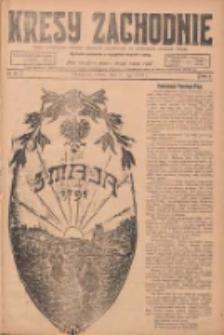 Kresy Zachodnie: pismo poświęcone obronie interesów narodowych na zachodnich ziemiach Polski 1924.05.03 R.2 Nr70