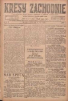Kresy Zachodnie: pismo poświęcone obronie interesów narodowych na zachodnich ziemiach Polski 1924.05.10 R.2 Nr74