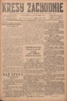 Kresy Zachodnie: pismo poświęcone obronie interesów narodowych na zachodnich ziemiach Polski 1924.05.11 R.2 Nr75