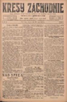Kresy Zachodnie: pismo poświęcone obronie interesów narodowych na zachodnich ziemiach Polski 1924.05.13 R.2 Nr76