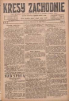 Kresy Zachodnie: pismo poświęcone obronie interesów narodowych na zachodnich ziemiach Polski 1924.05.21 R.2 Nr83