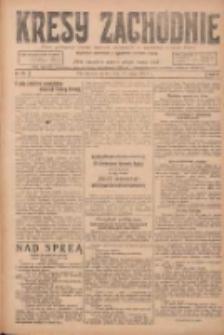 Kresy Zachodnie: pismo poświęcone obronie interesów narodowych na zachodnich ziemiach Polski 1924.05.28 R.2 Nr89