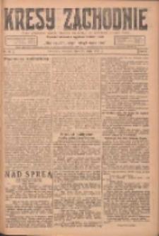 Kresy Zachodnie: pismo poświęcone obronie interesów narodowych na zachodnich ziemiach Polski 1924.05.29 R.2 Nr90