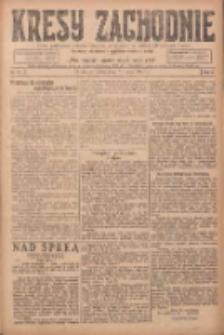 Kresy Zachodnie: pismo poświęcone obronie interesów narodowych na zachodnich ziemiach Polski 1924.05.31 R.2 Nr91