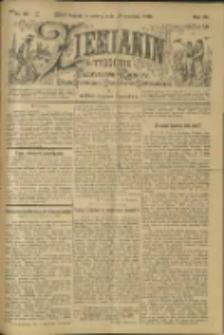 Ziemianin. Tygodnik przemysłowo-rolniczy; organ Centralnego Towarzystwa Gospodarczego w Wielkiem Księstwie Poznańskiem 1900.09.29 R.50 Nr39