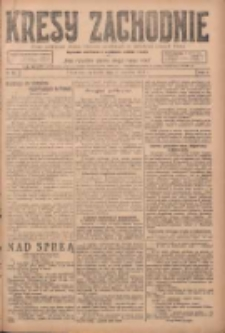 Kresy Zachodnie: pismo poświęcone obronie interesów narodowych na zachodnich ziemiach Polski 1924.06.01 R.2 Nr92