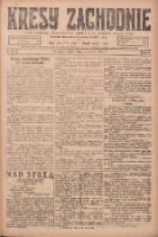 Kresy Zachodnie: pismo poświęcone obronie interesów narodowych na zachodnich ziemiach Polski 1924.06.06 R.2 Nr96