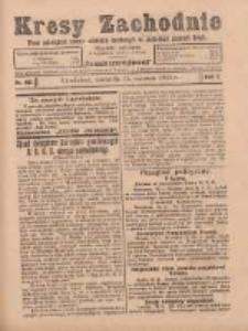 Kresy Zachodnie: pismo poświęcone obronie interesów narodowych na zachodnich ziemiach Polski 1924.06.15 R.2 Nr103