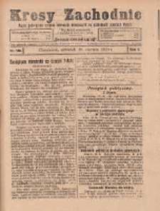 Kresy Zachodnie: pismo poświęcone obronie interesów narodowych na zachodnich ziemiach Polski 1924.06.19 R.2 Nr106