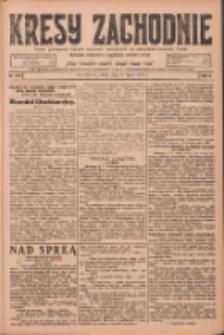 Kresy Zachodnie: pismo poświęcone obronie interesów narodowych na zachodnich ziemiach Polski 1924.07.09 R.2 Nr122