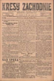 Kresy Zachodnie: pismo poświęcone obronie interesów narodowych na zachodnich ziemiach Polski 1924.07.10 R.2 Nr123