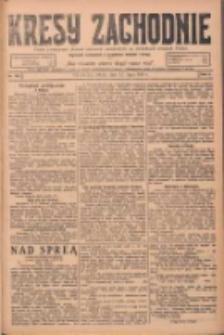Kresy Zachodnie: pismo poświęcone obronie interesów narodowych na zachodnich ziemiach Polski 1924.07.12 R.2 Nr125