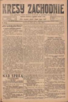 Kresy Zachodnie: pismo poświęcone obronie interesów narodowych na zachodnich ziemiach Polski 1924.07.16 R.2 Nr128