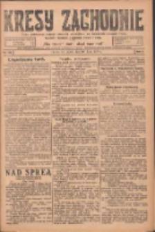 Kresy Zachodnie: pismo poświęcone obronie interesów narodowych na zachodnich ziemiach Polski 1924.07.18 R.2 Nr130