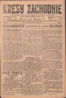 Kresy Zachodnie: pismo poświęcone obronie interesów narodowych na zachodnich ziemiach Polski 1924.07.23 R.2 Nr134