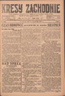 Kresy Zachodnie: pismo poświęcone obronie interesów narodowych na zachodnich ziemiach Polski 1924.07.24 R.2 Nr135