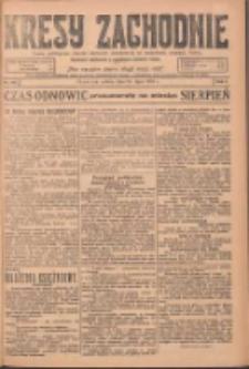 Kresy Zachodnie: pismo poświęcone obronie interesów narodowych na zachodnich ziemiach Polski 1924.07.26 R.2 Nr137