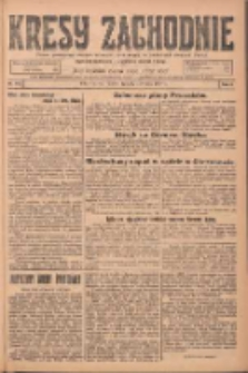 Kresy Zachodnie: pismo poświęcone obronie interesów narodowych na zachodnich ziemiach Polski 1924.08.01 R.2 Nr142